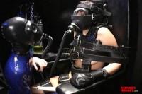 SI – First Time Bondage Chair Orgasm
