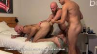 Triple Tag Team Fisting Pt3 Chris Wydeman & Sherman Maus FistFuck Me
