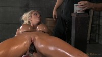 Sexy Huge Breasted Courtney Taylor Bound Onto Fucking Machine, Pounded Hard With Brutal Deepthroat