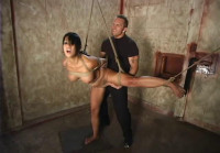 Gianna Is Spread Wide By Unforgiving Ropes