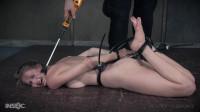 Ashley Lane Is Locked & Punished