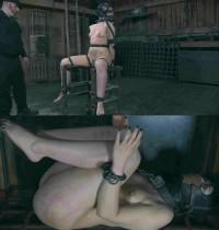 Sexy Elizabeth In BDSM