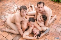 Dallas Reeves Convinced Zeb On His First Orgy Andrew Colins Jack Fuller Seth Jonson (2013)