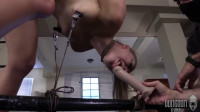 Tying, Spanking, Strappado And Torment For Excited Floozy Part ASS TO MOUTH