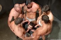Hole 1, Scene 05 -Tommy Defendi, Adam , Josh West,Trenton Ducati, Angel Rock, Luke Milan