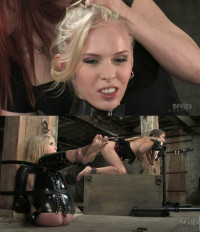 Heavy Restraint Bondage, Torment, Spanking And Strappado For 2 Sexy Models (part1)