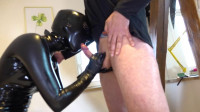 Tight Tying, Domination And Castigation For Slutty Doxy In Latex Full HD 1080p