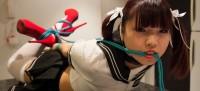 Restricted Senses – Schoolgirl Cosplay Bound