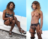 Tgirl Chanel Coture In Solo