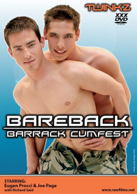 Raw Films – Twinkz – Bareback Barrack Cumfest