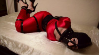 Bound And Hobbled In Red – Nyxon – HD 720p