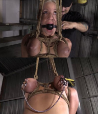 Tight Bondage, Strappado And Torture For Beautiful Girl With Small Tits