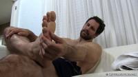 Spy On Jet's Worn Socks & Bare Feet