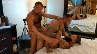 A Bare-Fucking Bear Orgy, Raw Piggy 4-Way For FTM Trip Richards