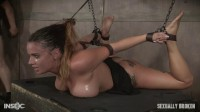 Scarlet Sade -Sexy Girl Next Door Has Her First Bondage And Rough Sex Experience