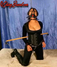 ShinyB – Nyssa Nevers.. Chained And Restrained