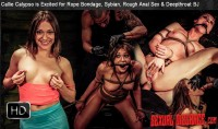 SexualDisgrace – Apr 16, 2015 – Callie Calypso Is Excited For Rope Bondage