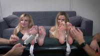 Bdsm Most Popular Alevtina And Bazhena Crazy Feet Tickling For Sisters