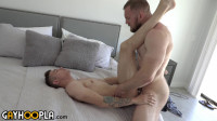 GH – Hairy Bryce Beckett Makes Jayden Marcos Cum While Riding Dick