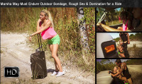 SexualDisgrace – Nov 12, 2014 – Marsha May Must Endure Outdoor Bondage, Rough Sex