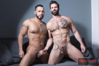 Viktor Rom And Dani Robles Bareback Couch (2017)