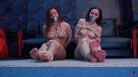 HD Power Play Sex Movies  2 Topless  In Rope Tying