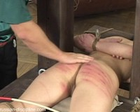 Cute Dark Haired Girl Is Punished For Something Or Other