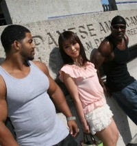 The Asian Appeared In The Company Of Two Black Men