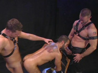 Dominate Pounding With Hairy Fuckers