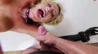 Super Restraint Bondage, Ache And Domination For Hawt Golden-haired In Latex HD 1080
