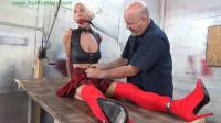 HunterSlair – Amanda Foxx – Jacked Up By Her Brutally Cuffed Tits