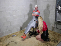Sexy MOTHER ID LIKE TO FUCK Secretary Is Completely Duct Taped And Groped By Beautiful LadyBoss
