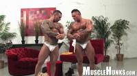 MuscleHunks – Caleb Del Gatto, Jackson Gunn – Beasts & Butts