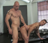 Musclebound Fuck With Angelo & JR Bronson