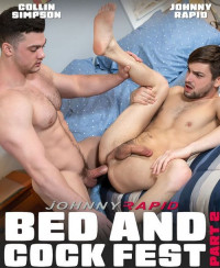 Bed And Cock Fest Part 2 – Johnny Rapid And Collin Simpson (1080P)