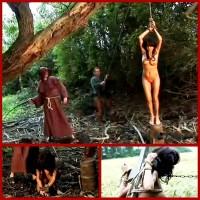 Gypsy Janessa Is Punished Outdoor Suspension & Spanking – BrutalDungeon