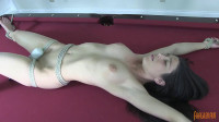 Serena Bound And Cumming On Pool Table