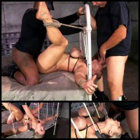 Pussy Pounding While Restrained (22 Aug 2014) Sexually Broken