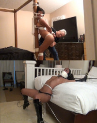 Super Bondage, Predicament And Domination For Young Latina Model