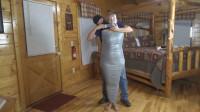 Rachel Adams Pantyhose Mummification