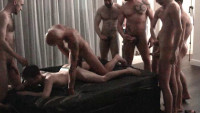 London Gangbang With Uncut Dicks