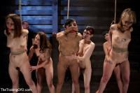 Seven Slave Intake – Extreme Bondage, Exhausting Exercise