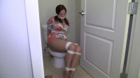 Kept Tied Up, Gagged And Stashed In The Bathroom