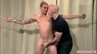 Aaron – Bound, Panties Destroyed, Gagged, Flogged