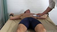 Sergey Tickled In Sheer Socks