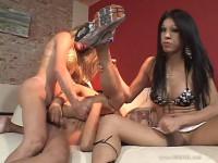 Big Cock She Male Gang Bang 2 Scene4