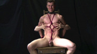 Lanky, Lean Muscle Guy Roped And Groped Jared Vol.