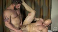 Aaron Bruiser & Johnny – Johnny Finally Gets Fucked Behind The Scenes