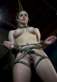 Chanel Preston Helpless Brutally Deep Throated , Severe String Bondage