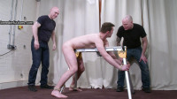 Jozef – Tied To A Bench,flogged,caned,bastinado